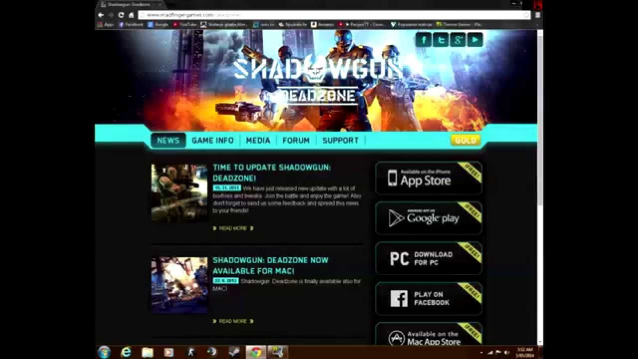 How to download and install shadowgun:deadzone pc 2016 (not.