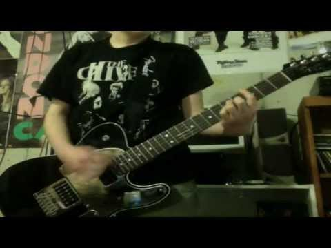The Hives Main Offender guitar cover