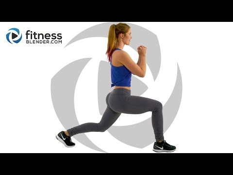 No Equipment Butt and Thigh Workout at Home - Bodyweight Lower Body Workout