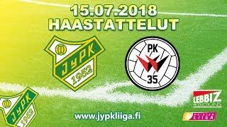 JyPK - PK-35 Vantaa 15.07.2018 Haastattelut!