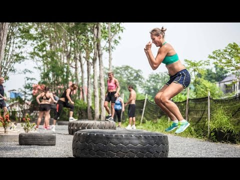 Fitness bootcamp in Thailand