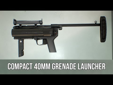 Download Youtube: [Payday 2] Compact 40mm Grenade Launcher
