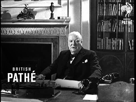 The Parties Speak No. 5 - The Rt. Hon. Winston Churchill - Conservative Party (1945)