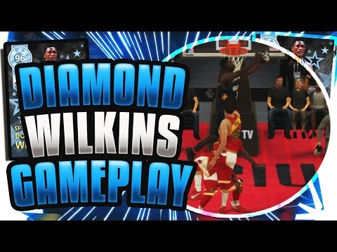 DIAMOND DOMINIQUE WILKINS GAMEPLAY!! SO MANY RAGE QUITS! NBA 2K18 MYTEAM!