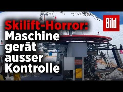 Sessellift außer Kontrolle – viele Verletzte!