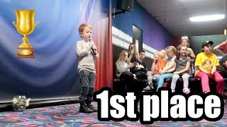 He WON The TALENT CONTEST! ENDER'S GOT TALENT