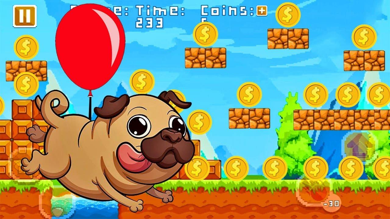 Pug Run - Juegos Para Niños Pequeños - Dibujos Animados