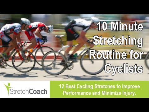 Cycling Stretches, Cycling Stretching Routine, Best Flexibility Program for Cyclists
