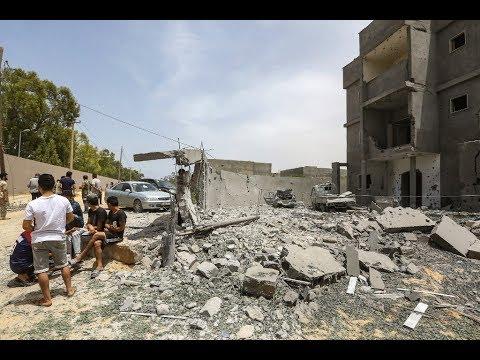 نزوح 94 ألف شخص بسبب القتال في طرابلس  - نشر قبل 2 ساعة