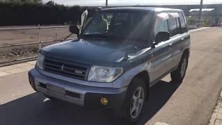Видео-тест автомобиля Mitsubishi Pajero io (H76W-0018470, 4G93, 1999г)