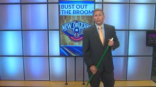 Brad Cesak Breaks out the Broom as the Pelicans Complete Sweep