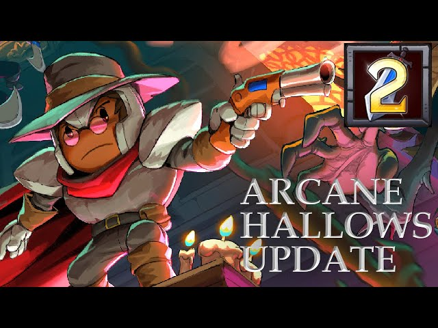 Rogue Legacy 2 Arcane Hallows Update - Trying out the Gunslinger Class
