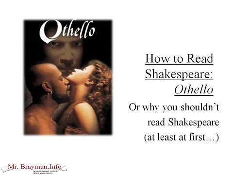 How to Read Shakespeare: Othello