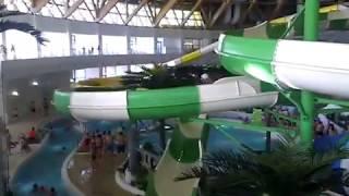 Аквапарк в Новосибирске.