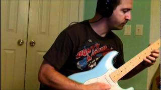 Quick test of Squier Deluxe Strat (Daphne Blue)