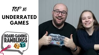 Top 10 Underrated Games