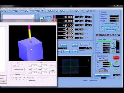 mach3 5 axis simulator