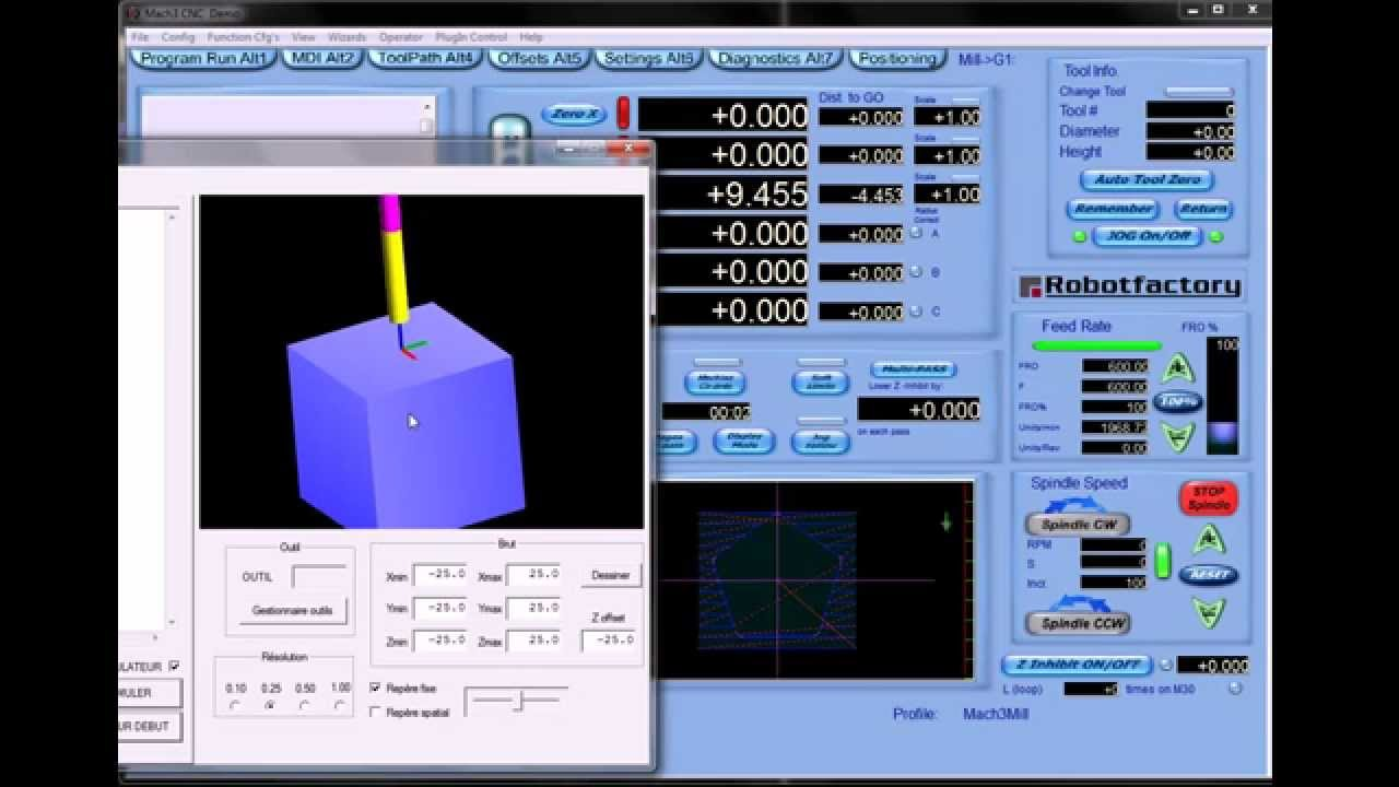 mach3 5 axis simulator #1