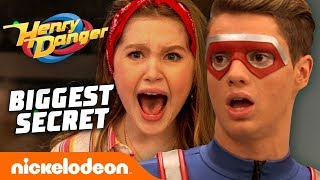 Kid Danger's BIGGEST SECRET Revealed to Piper 😨 Nick