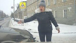 Женщины за рулем - 'Сучка крашенная!' (часть 14) ★ Тематические подборки дтп