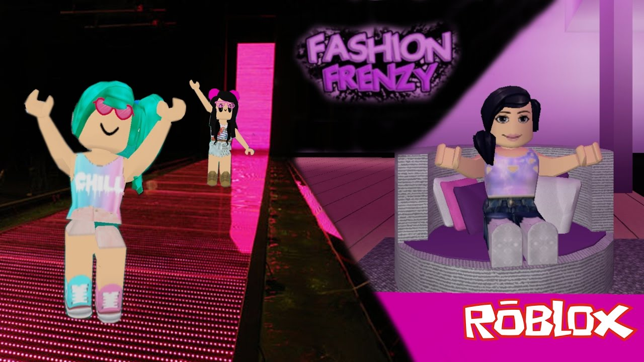 Roblox Desfilando E Arrasando Na Passarela Fashion Frenzy Luluca Games Youtube