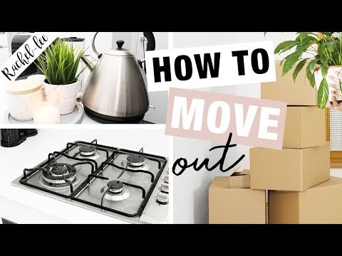 How To Organise Your Life | Moving Out Of Home & Moving House