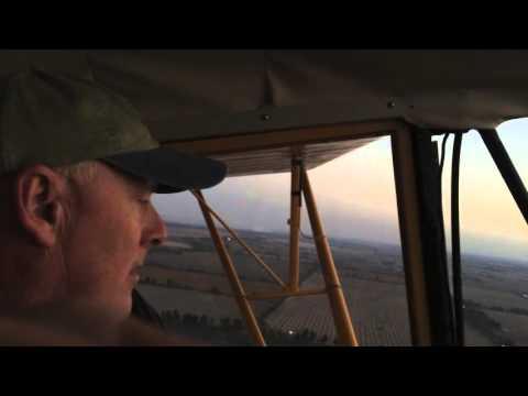 Flying a Piper J4 Cub - YouTube