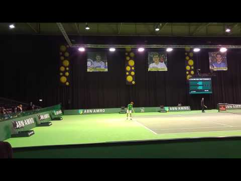 20160208 111219 ABN AMRO Tennis Rotterdam Goffin training