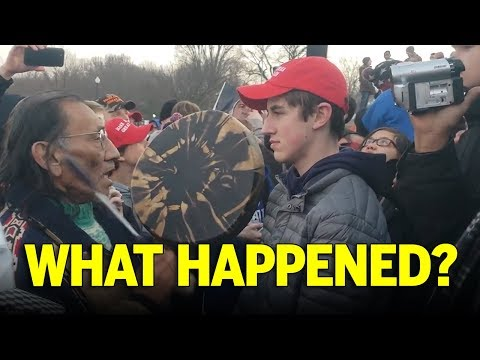 MAGA Teens Confront Old Native Man In DC… Or Did They? Here's The Real Story