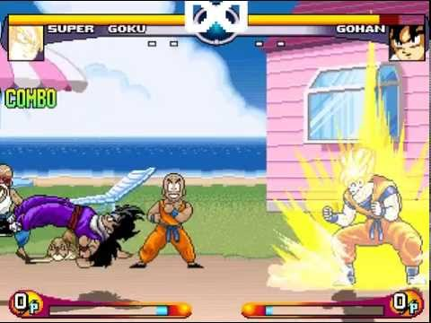 Choujin Dragon Ball Z Mugen Gameplay