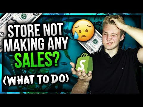 What To Do If Your Shopify Store Isn't Making Sales (Most Updated Version)
