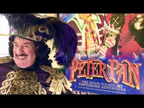 Interview John Challis Captain Hook - Peter Pan Nottingham Theatre Royal 2018