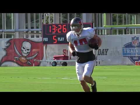 Adam Humphries, Tampa Bay Bucs 8.22.17 Training Camp Clips