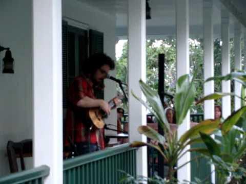 "James Hill plays ""Billie Jean"" with Ukulele at the Pahala Plantation House"