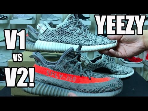 ac9f9437d1c64 WHICH IS BETTER  YEEZY BOOST 350 V2 REVIEW   COMPARISON TO V1 - YouTube