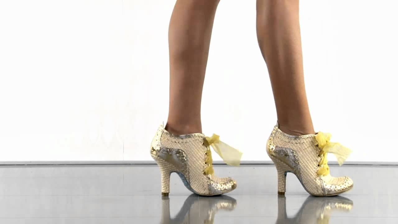f35dae4b37bb Abigails 3rd Party in Gold Irregular Choice - YouTube