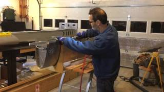 Using a Nibbler to Cut Sheet Metal