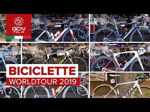 La Guida 2019 delle Biciclette World Tour: le nuove biciclette dei Team Pro