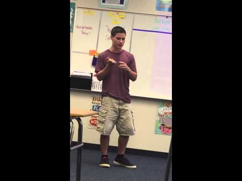 Beatbox lessons In English Class