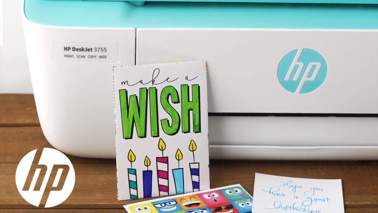 DIY Birthday Gift Card Holder | HP Printers | HP