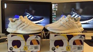 adidas triple white 2 0 vs original white 1 0 ultra boost comparison review   andy yang