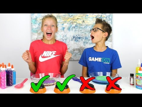 DON'T PRESS THE WRONG BUTTON SLIME CHALLENGE!
