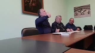 Conferenza stampa sull'udienza privata con Papa Francesco