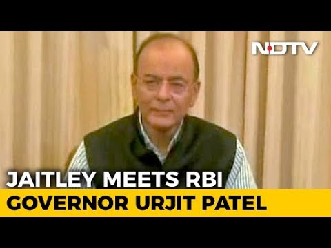 Arun Jaitley, RBI Chief Face-To-Face As Rift Is Out In Open
