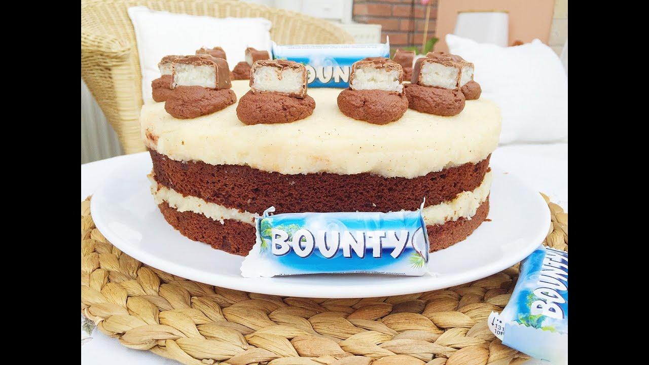 Bounty Kokos Torte Bounty Cake Youtube
