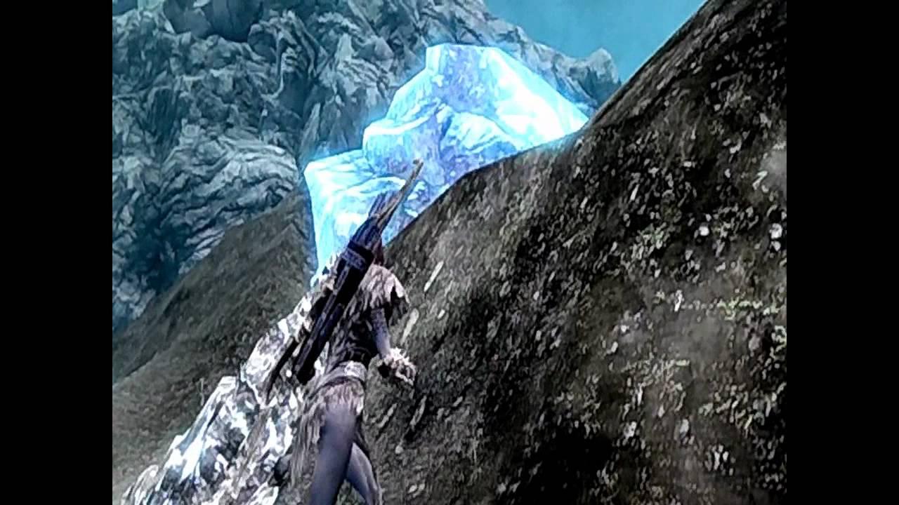Cool Skyrim glitch - Daylight in Blackreach!