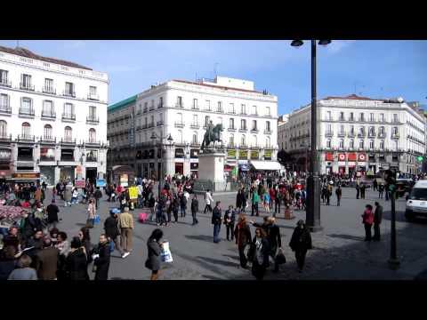 Puerta del Sol - Madrid, Spain