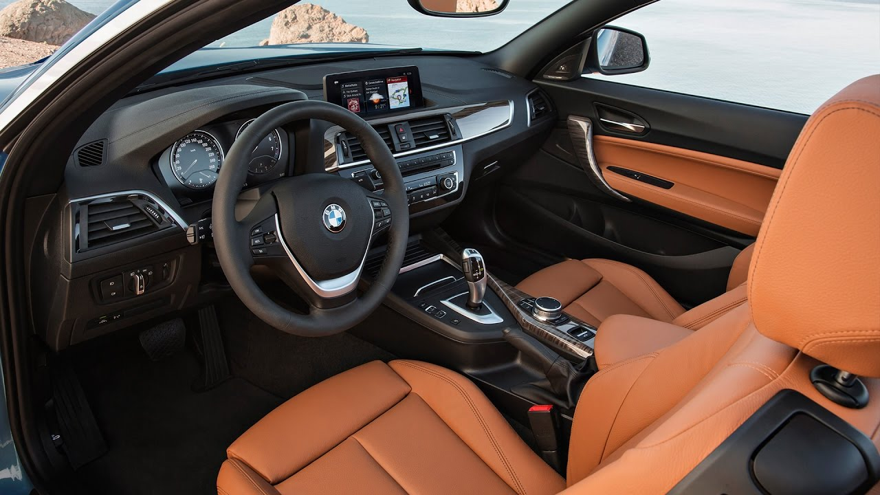 2018 Bmw 230i Convertible Interior Revised 2 Series