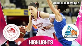 Olympiacos v Perfumerias Avenida - Highlights - EuroLeague Women 2018-19