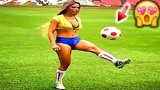 MEGA CRAZY WOMEN'S 👠 NEW FOOTBALL FUNNY 😆 FOOTBALL ⚽ VINES #29 FAILS MOMENTS 2017 GOALS2